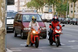 Barcelona abandona el carril bus-moto
