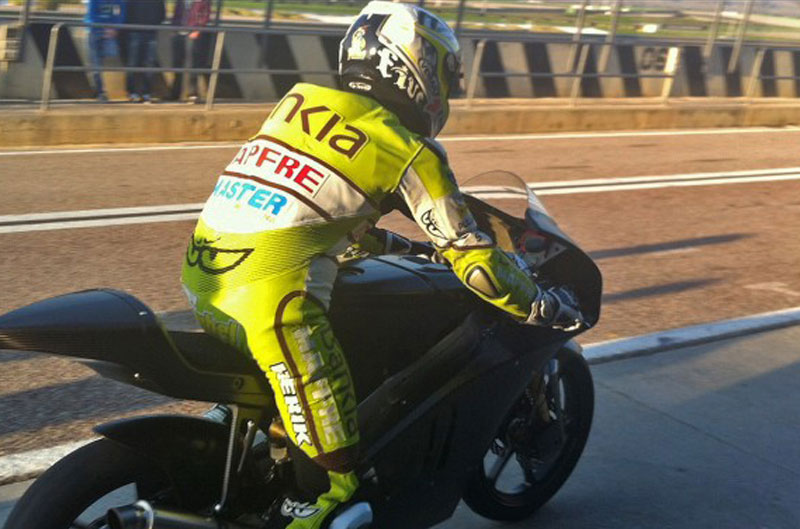 Las Kalex-KTM se estrenan en Valencia
