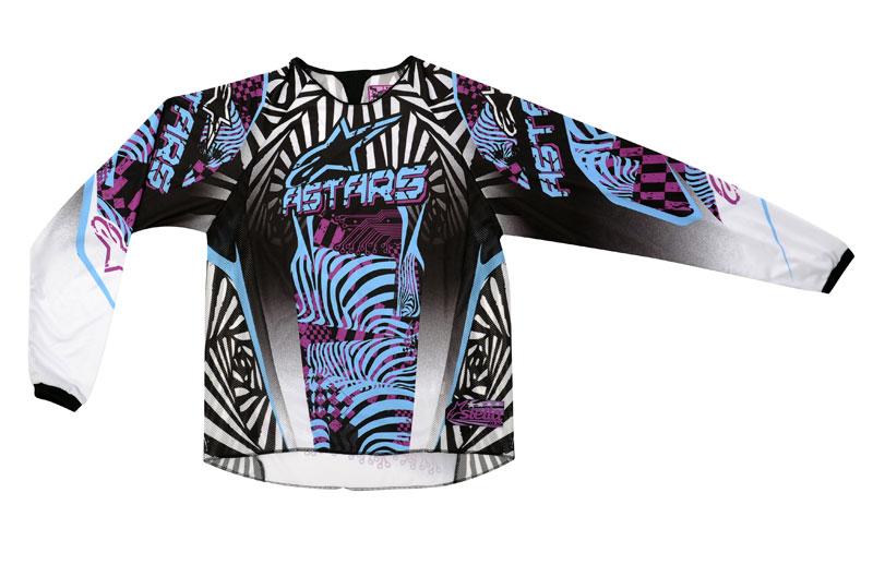 Colección Alpinestars 2012 de moto técnica para mujer