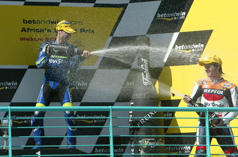Mi mejor carrera. Dani Pedrosa. Gran Premio de Sudáfrica de 2004