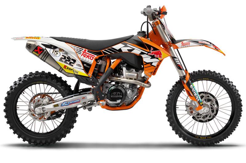 Réplicas KTM de las motos oficiales del Campeonato del Mundo