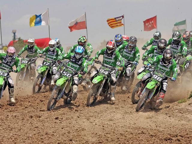 Campeonato de España de Motocross Kawasaki Green Cup: Calendario 2012