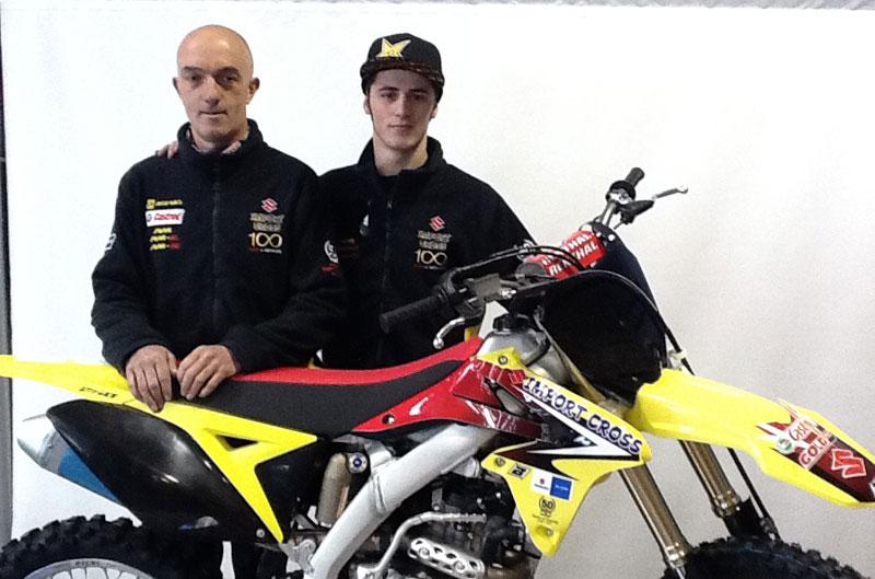 Joan Cros firma con Suzuki Importcross