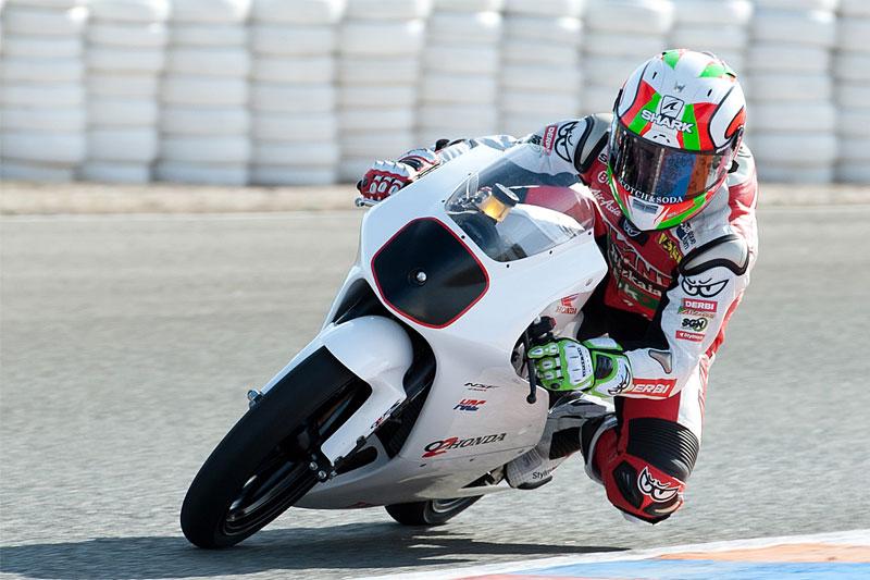 Efren Vazquez y Adrián Martin terminan sus primeros entrenos en Moto3