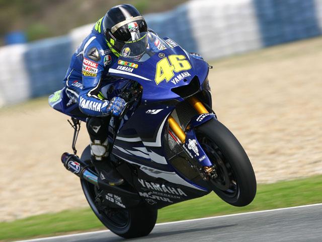 Rossi y Pedrosa baten el récord