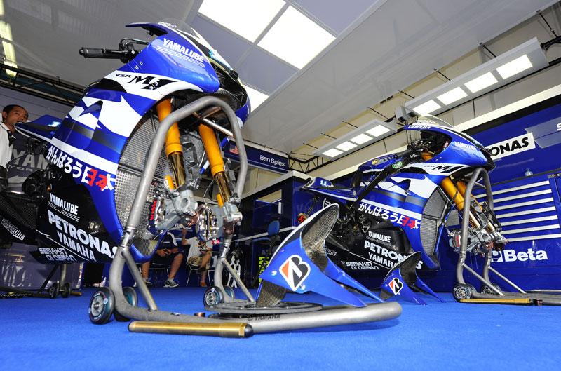 Yamaha y Eneos, en MotoGP