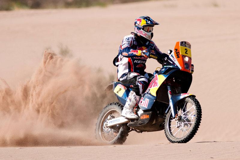 Sigue el duelo en entre Despres y Coma en la quinta etapa del rally Dakar