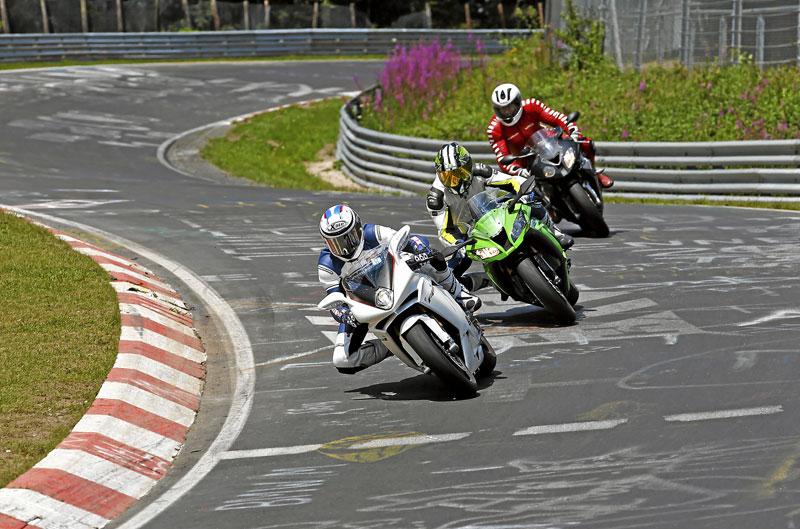 Las superbike más potentes y la Honda NC700X