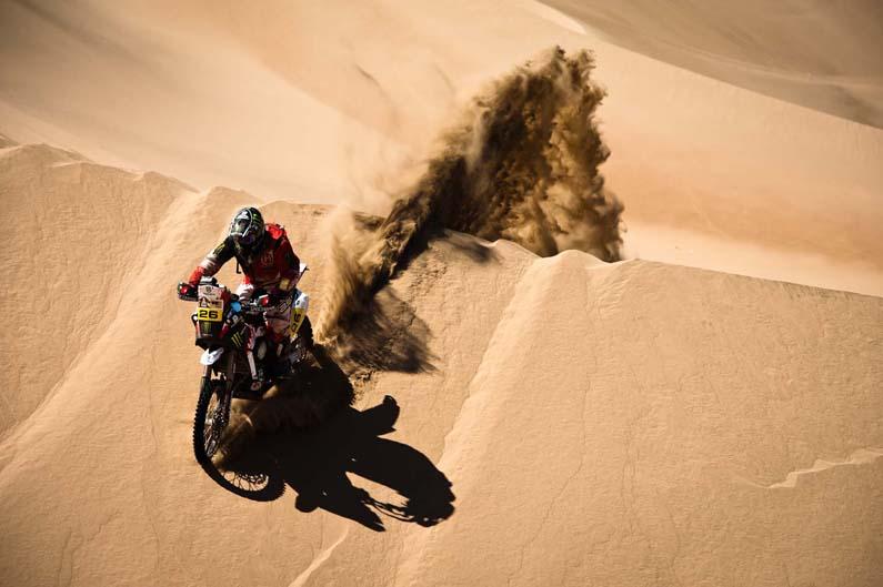 Primera victoria de Joan Barreda en el Dakar