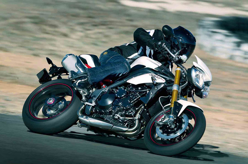 Triumph publica el precio de la gama 2012