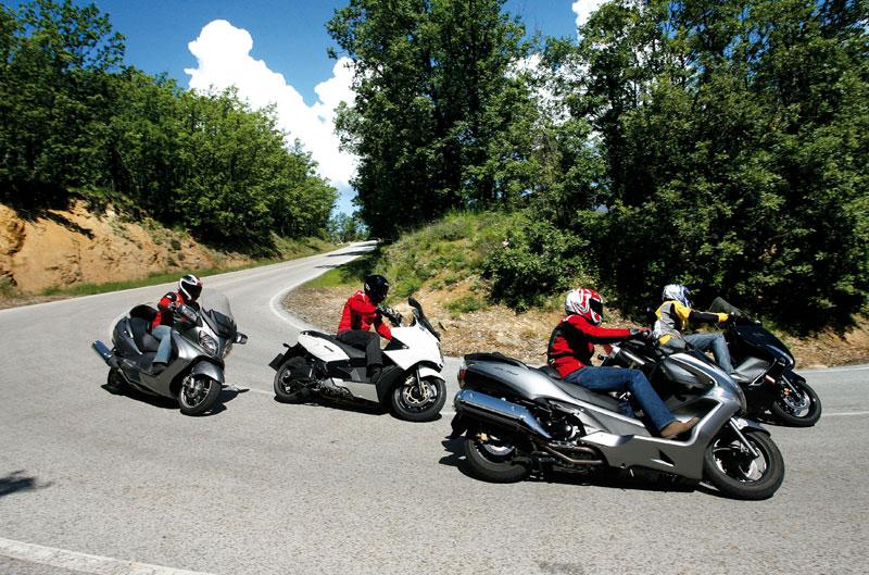 Los mejores megascooter 2011