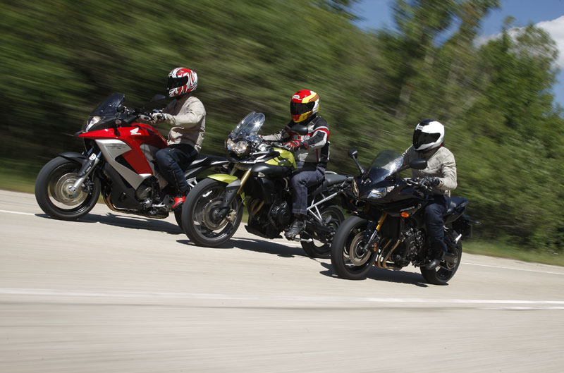 Las mejores motos de 800cc 2011