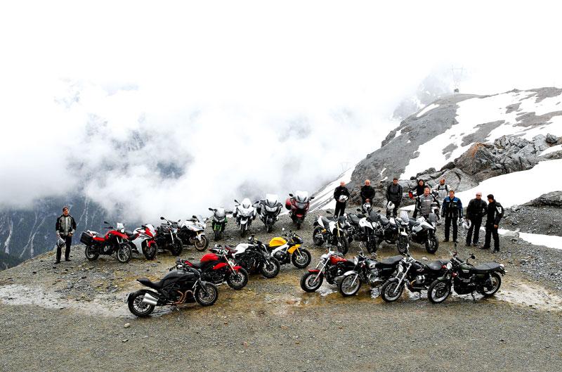 Las mejores motos del Alpen Master 2011