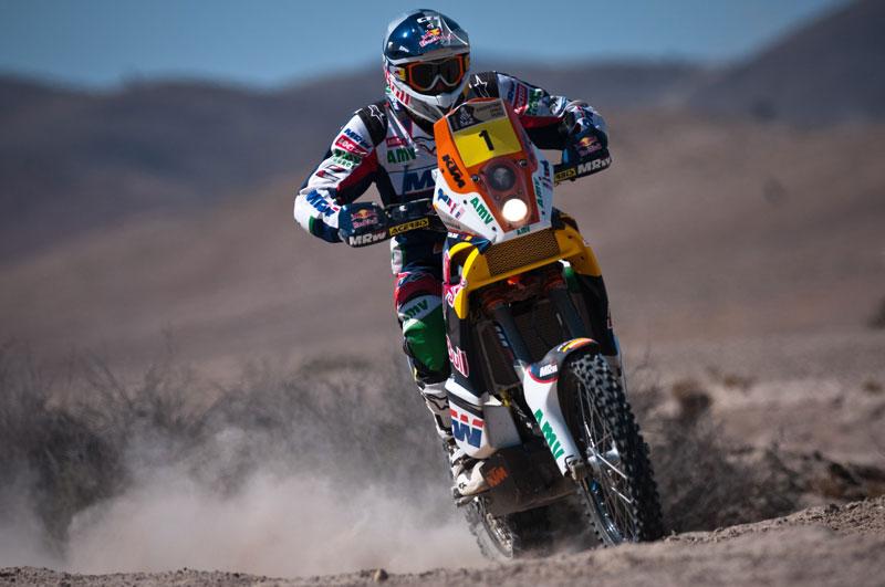Marc Coma, victoria y liderato tras la 12 etapa del Dakar