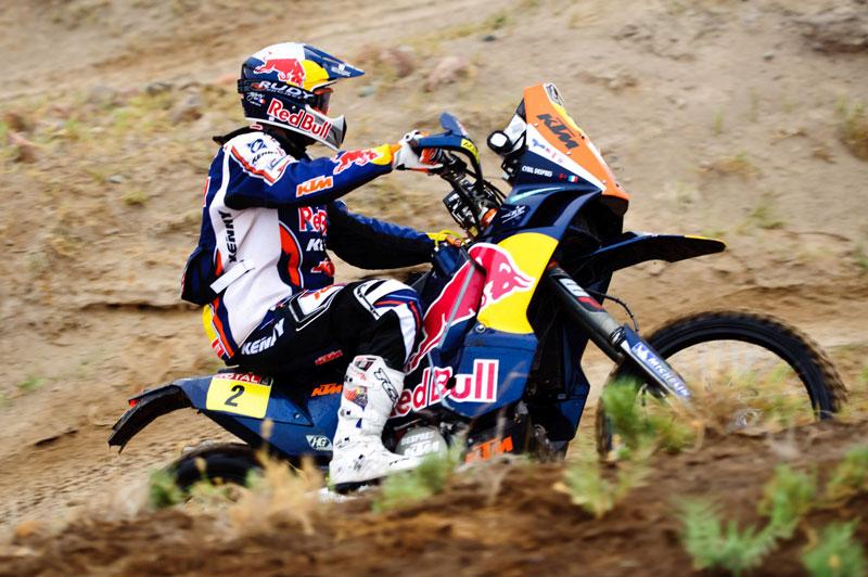 Despres sentencia el Dakar 2012. Coma sufre una avería.
