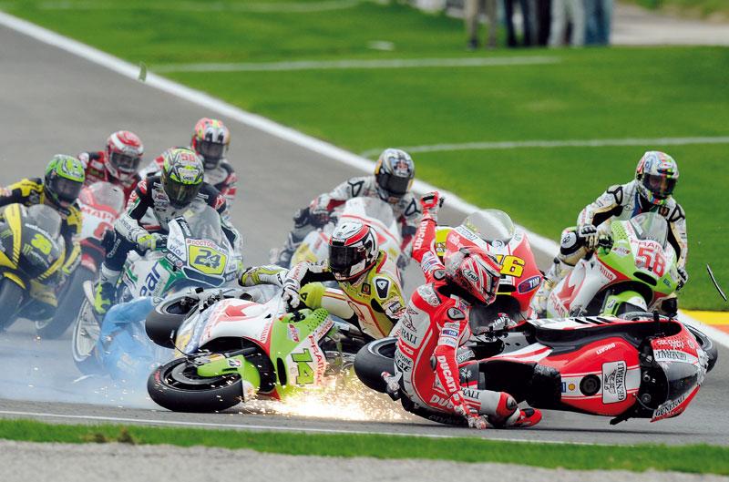 Tres años de monogoma Bridgestone en MotoGP