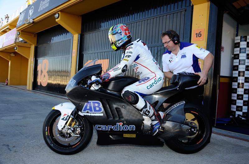 Ficha técnica de la Ducati GP12 de MotoGP