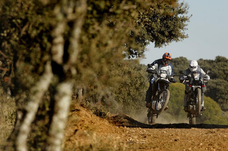 Comparativa Trail: BMW G 650 GS Sertao y Yamaha XT 600Z Tenere