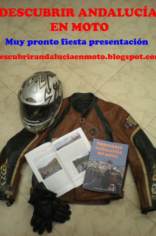 A principios de febrero se presentará el libro Descubrir Andalucía en Moto