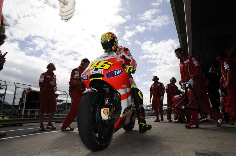 Ducati Desmosedici. Evolución MotoGP