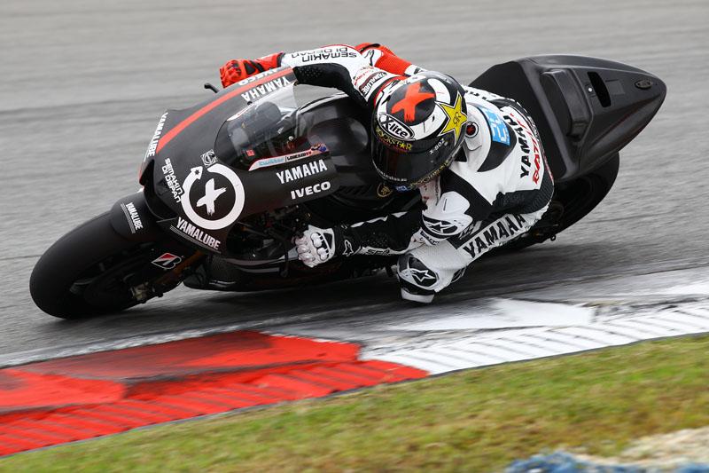 Lorenzo el más rápido en Malasia