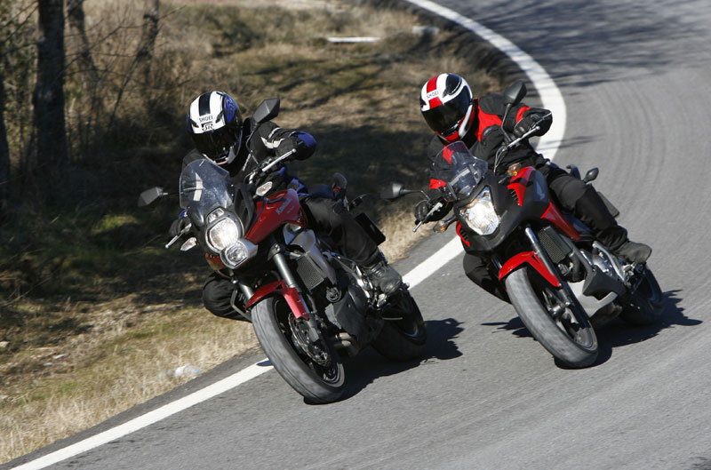 Comparativa Trail urbanas: Honda NC700X y Kawasaki Versys 650