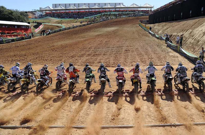 Los equipos del Mundial de Motocross MX1 y MX2 2012