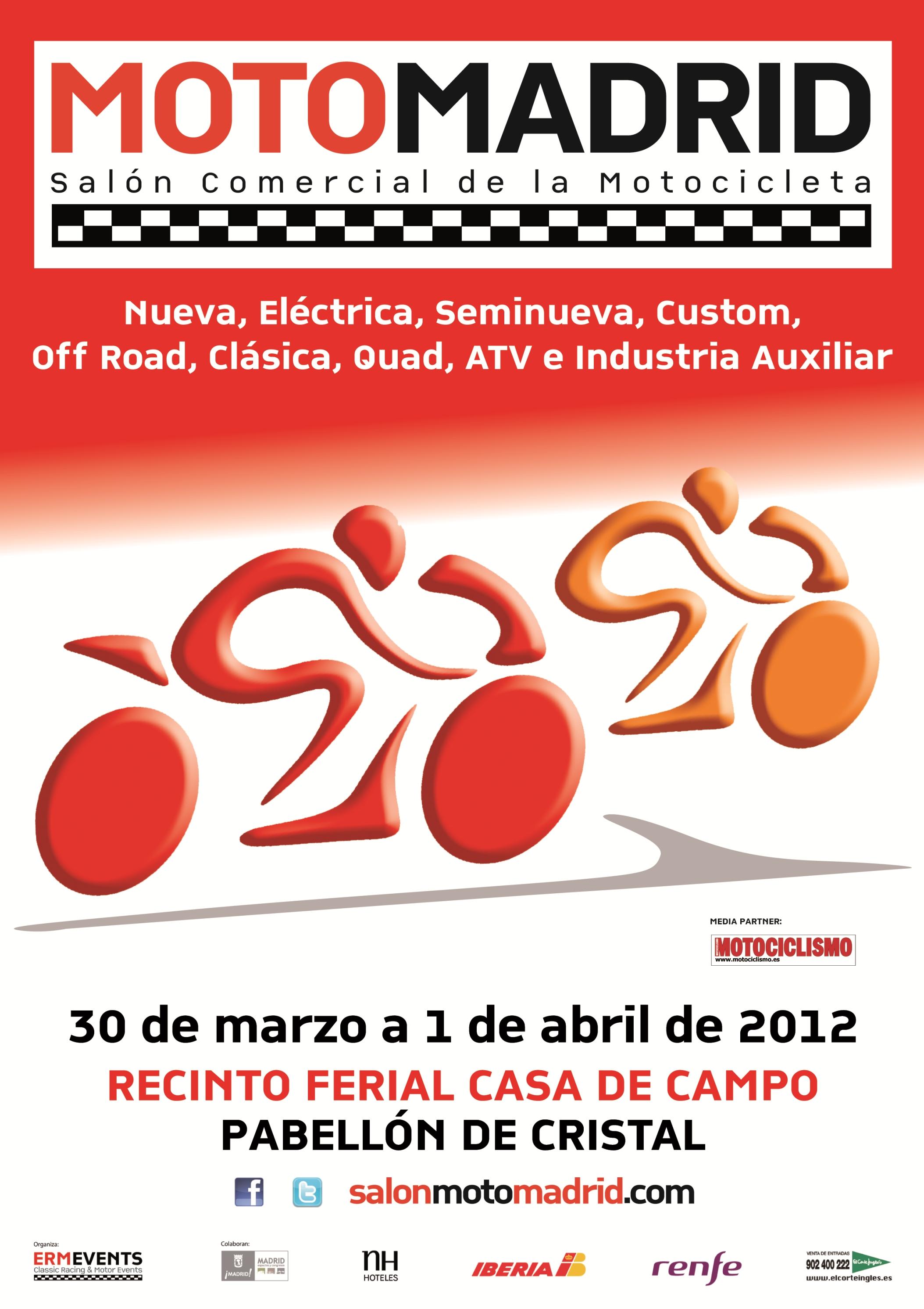 El Salón de la Moto de Madrid tendrá exhibiciones y actividades deportivas