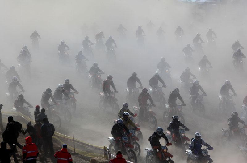 Rovert Kvarnström domina en la Bassella Race