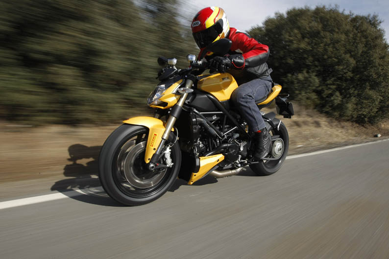 Ducati Streetfighter 848. Prueba a fondo