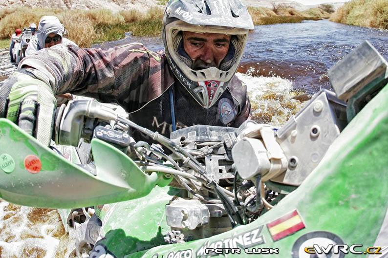 Paco Martínez cuenta su aventura en el Dakar 2012 (I)