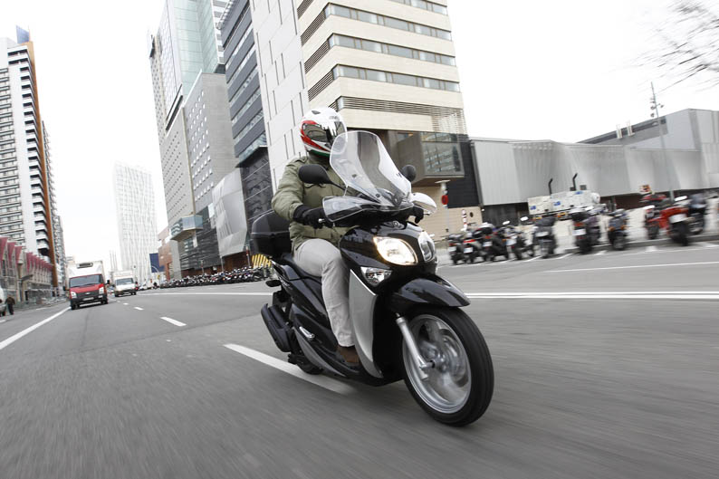 Yamaha X-Enter 125. Prueba