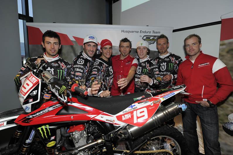 Equipos Husqvarna de motocross y enduro