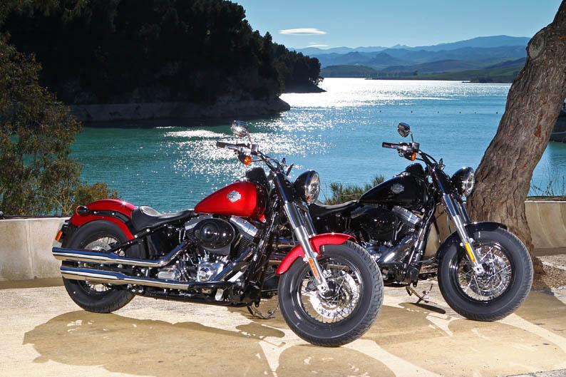 Harley-Davidson Sportster Seventy Two y Softail Slim