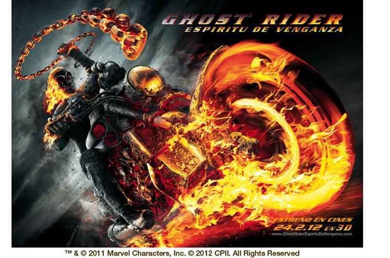 Te invitamos al cine a ver Ghost Rider: Espíritu de venganza