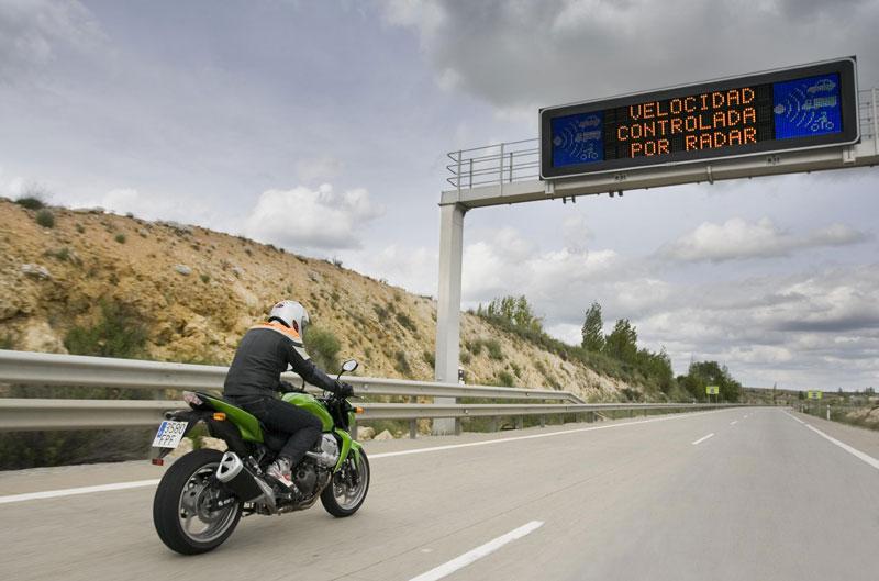 Detectores y avisadores de radares para la moto
