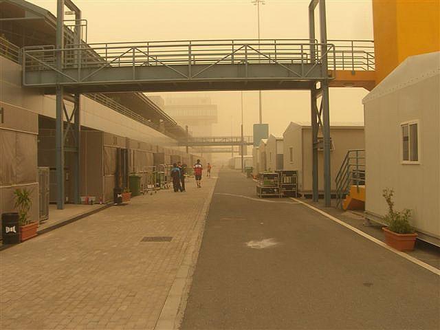 Tormenta de arena en Qatar