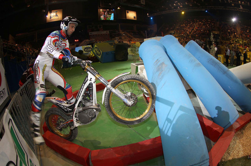 Mundial de Trial Indoor 2012 en Madrid