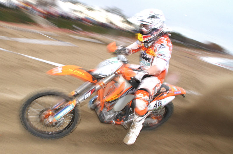 Johnny Aubert gana el enduro de Vinaroz
