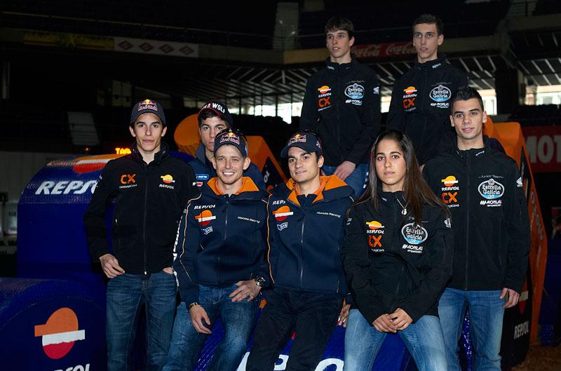 Presentación equipos Repsol 2012