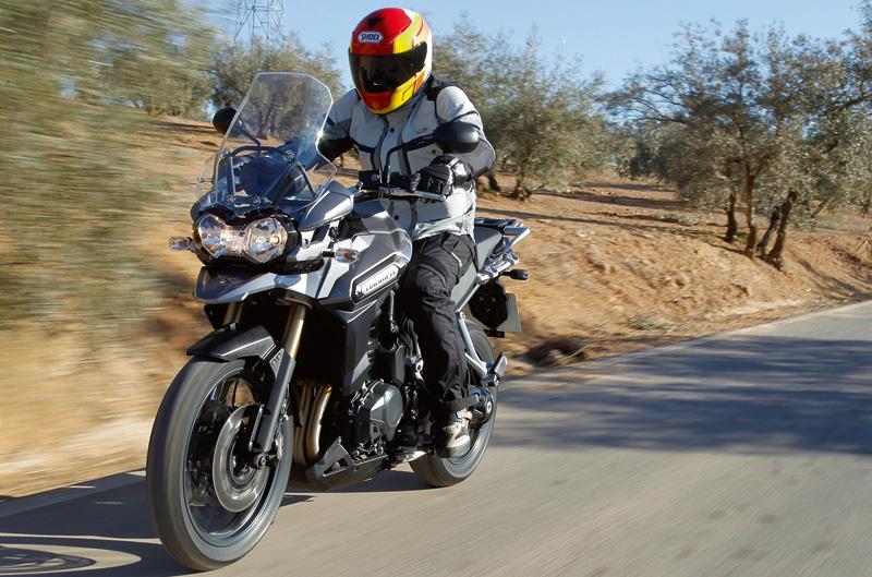 Triumph Tiger Explorer y motos europeas por 7.000 euros