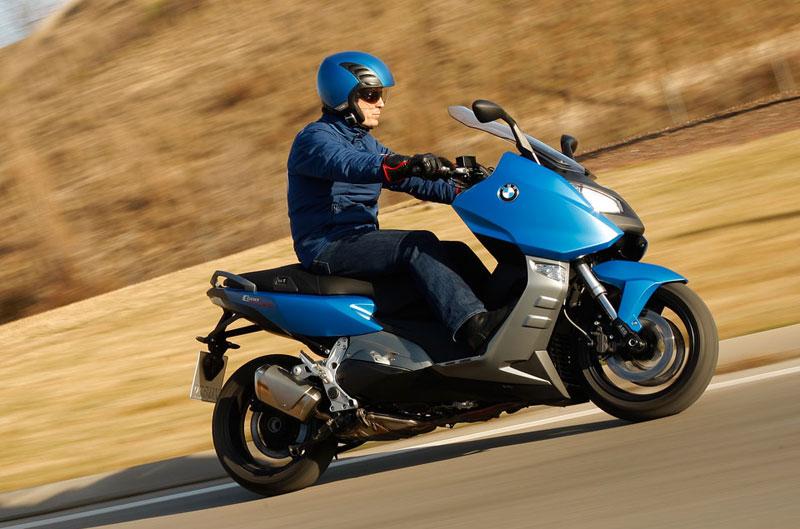 Scooter BMW: primera prueba