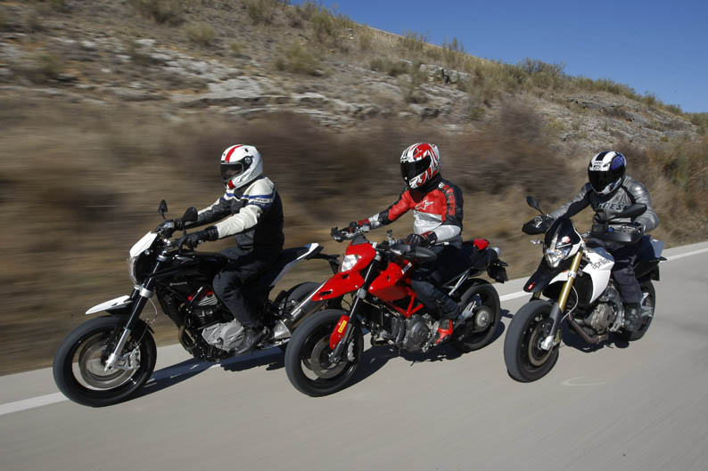 Comparativa supermotard