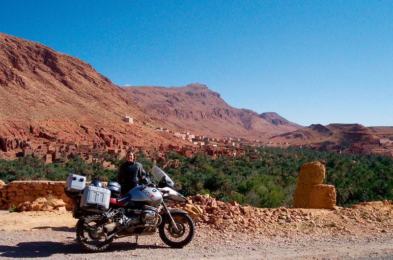 Marruecos en moto
