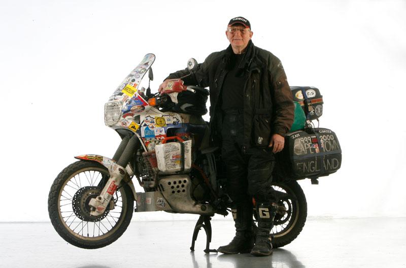 Vuelta al mundo en moto de Ian Coates