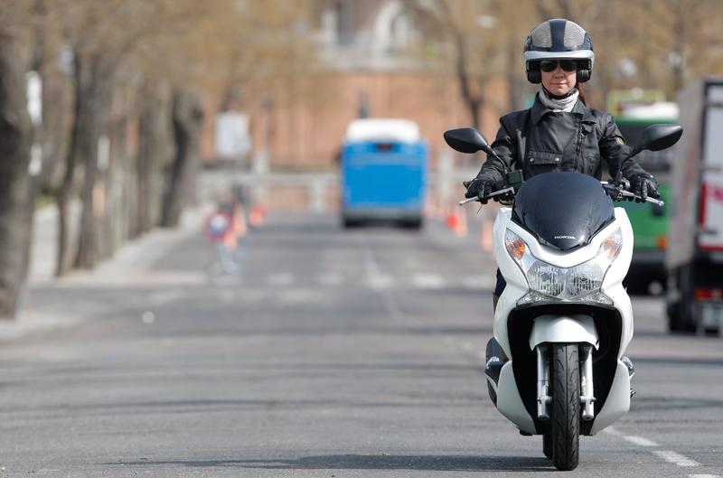 La moto, el vehículo más rápido para moverse por ciudad