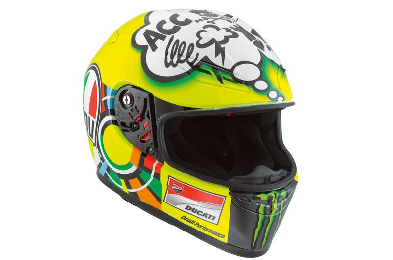 Casco AGV GP-Tech de Valentino Rossi