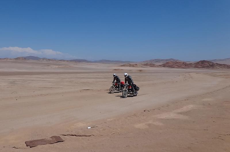 Las motos ideales para viajar por el mundo