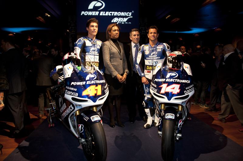 Presentación del equipo Aspar de MotoGP, Power Electronics