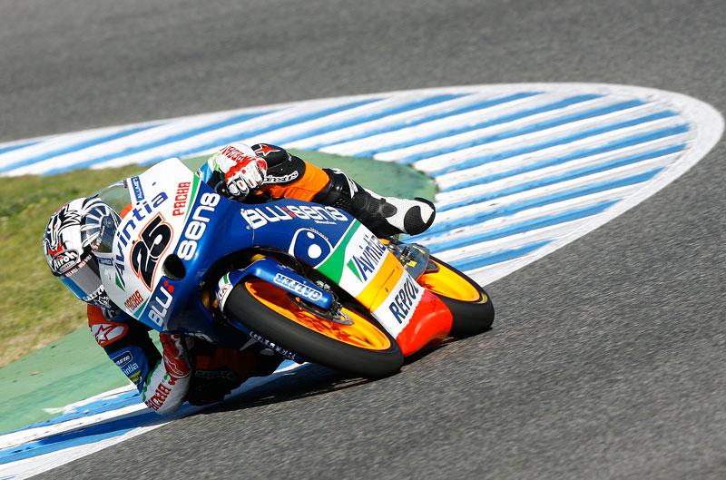 Viñales y Corti los más rápidos en los IRTA de Jerez